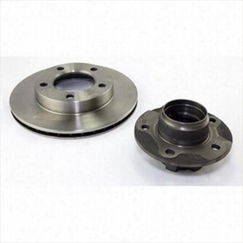 Omix-Ada Hub and Rotor 16704.01 Disc Brake Rotor and Hub Assembly