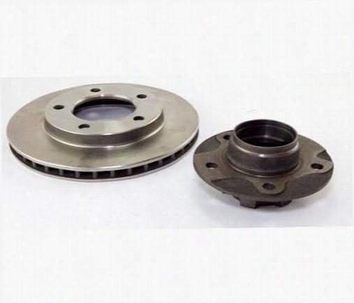 Crown Automotive Hub and Rotor Kit J5358568 Disc Brake Rotor and Hub Assembly