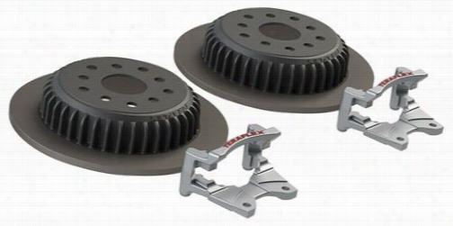 TeraFlex Rear Performance Big Rotor Kit 4304450 Disc Brake Pad and Rotor Kits