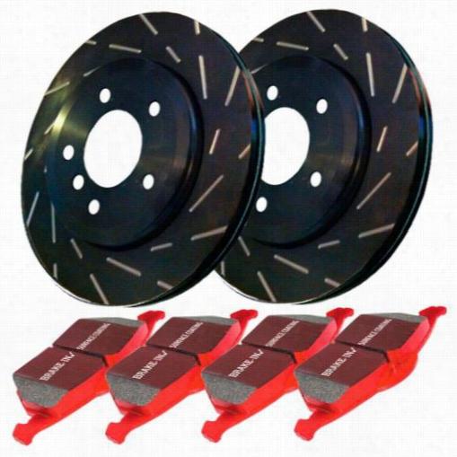 EBC Brakes Stage 4 Signature Brake Kit S4KF1471 Disc Brake Pad and Rotor Kits