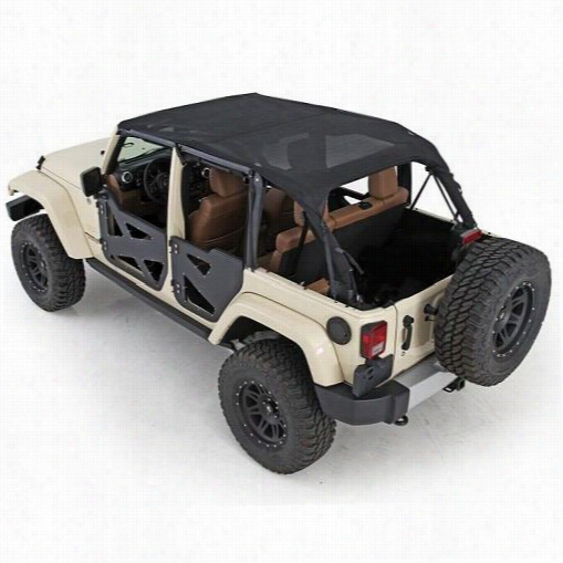 Smittybilt Outback Extended Bikini Top 94600 Brief Top
