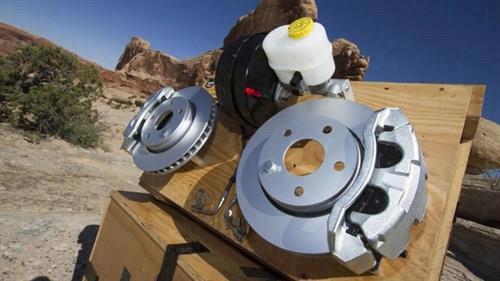Jeep Big Front Brake Kit P5160051 Disc Brake Pad and Rotor Kits