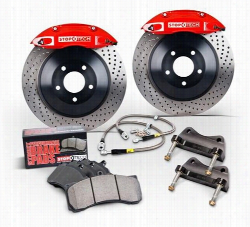 Power Slot Stoptech Big Brake Kit 82.332.6800.71 Disc Brake Calipers, Pads and Rotor Kits