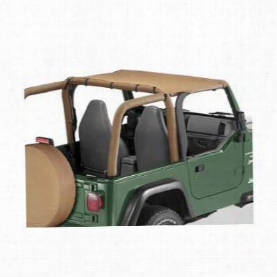 Bestop Header Style Jeep Wrangler TJ Bikini Top in Spice 52525-37