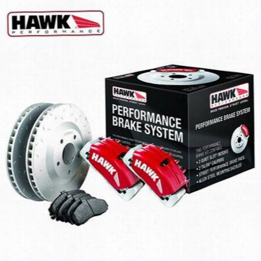 Hawk Performance Performance Brake System HCKS3007 Disc Brake Calipers, Pads and Rotor Kits