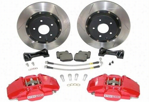 Power Slot Stoptech Big Brake Kit 83.143.0027.81 Disc Brake Calipers, Pads and Rotor Kits