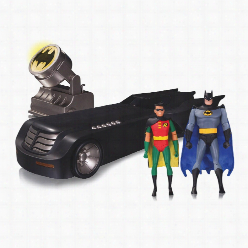 Batman Animated Series Batmobile Car Black  Amazoncouk