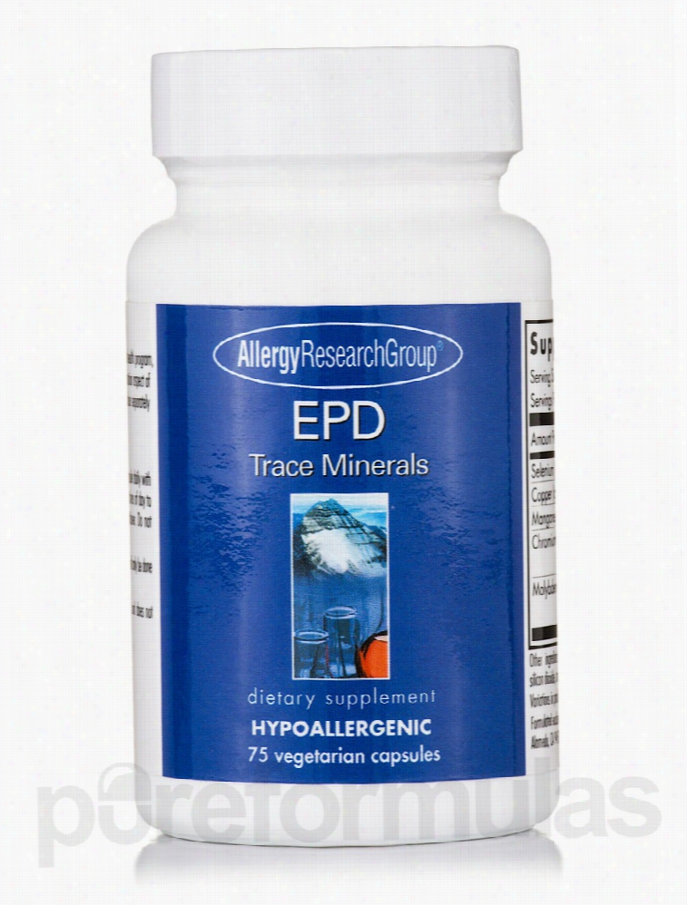 Allergy Research Group Allergy Relief - EPD Trace Minerals - 75