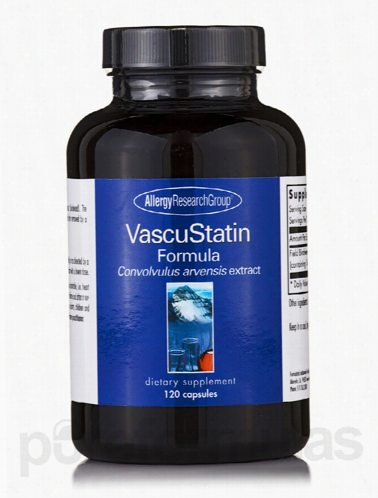 Allergy Research Group Cardiovascular Support - VascuStatin Formula -