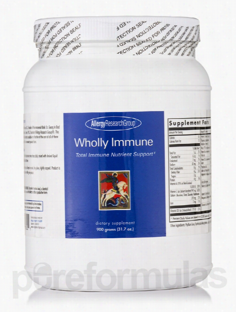 Allergy Research Group Cellular Support - Wholly Immune Powder - 31.7