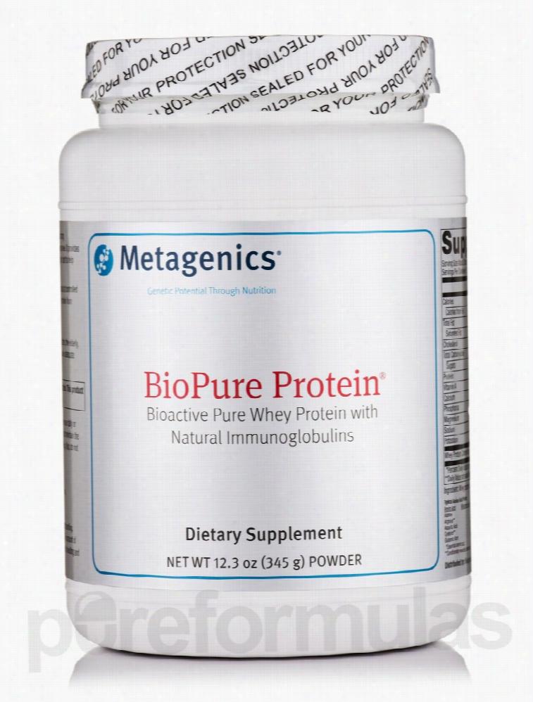 Metagenics Immune Support - BioPure Protein Powder - 12.3 oz (345