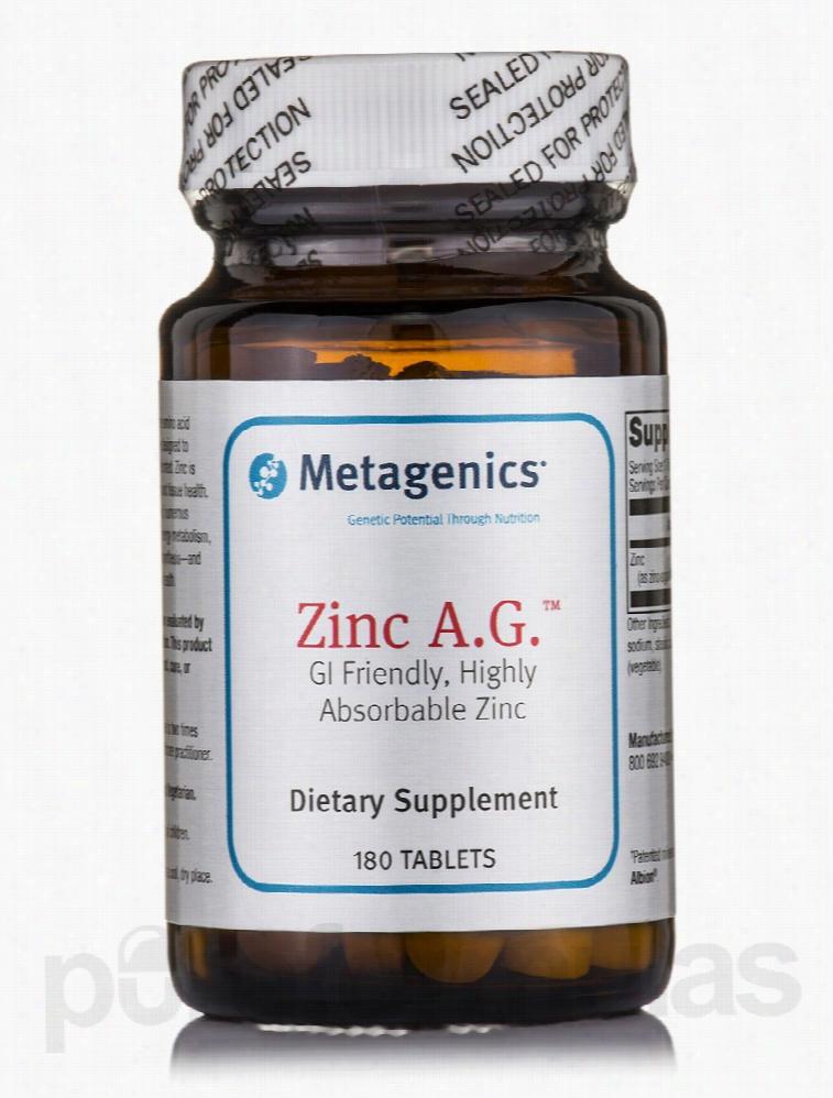 Metagenics Immune Support - Zinc A.G. - 180 Tablets