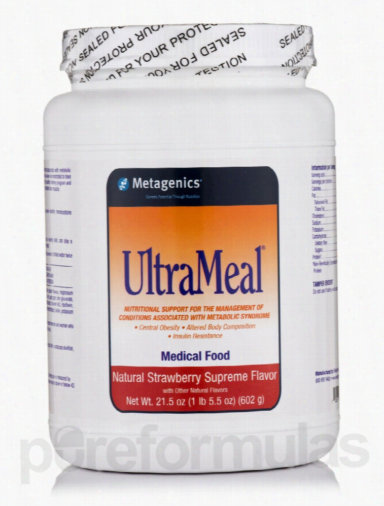 Metagenics Metabolic Support - UltraMeal Medical Food (Strawberry