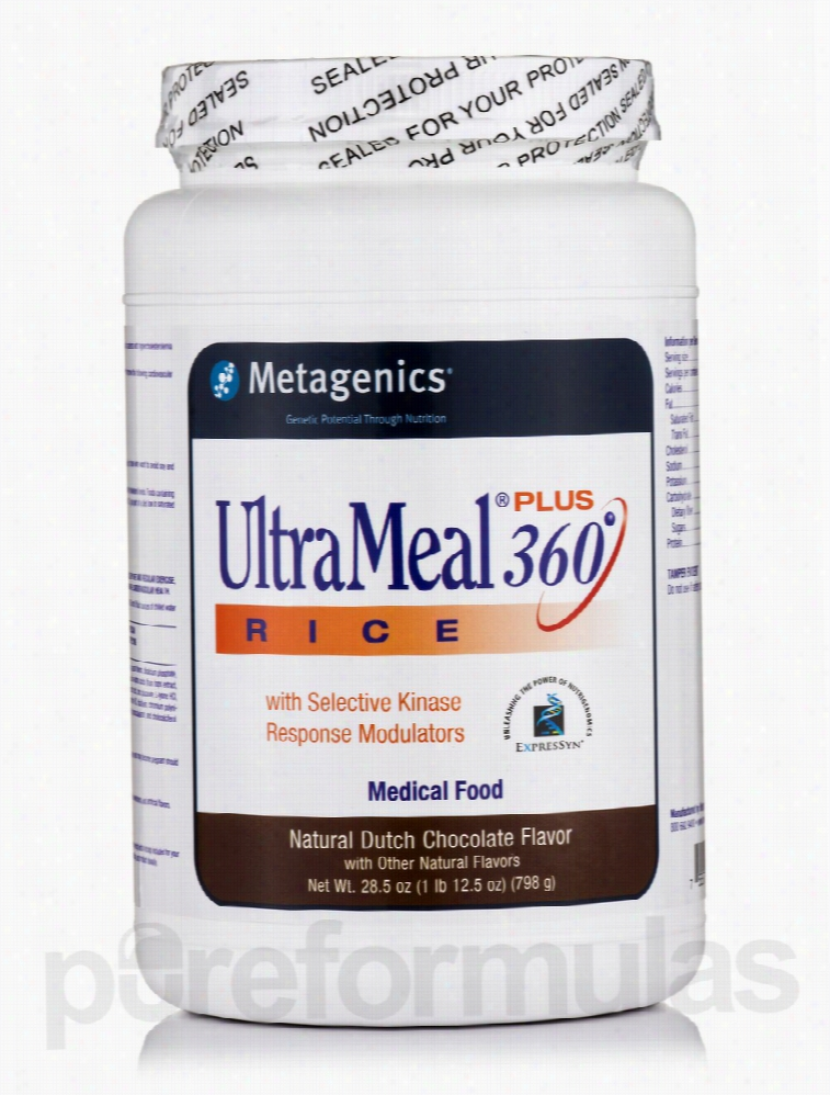 Metagenics Metabolic Support - UltraMeal Plus 360 RICE Medical