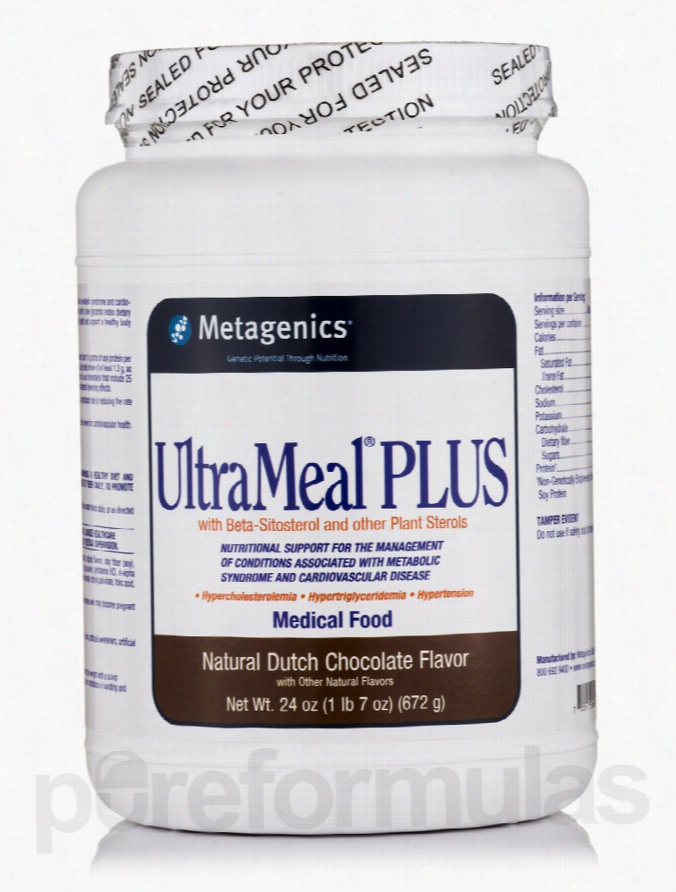 Metagenics Metabolic Support - UltraMeal Plus Medical Food (Natural