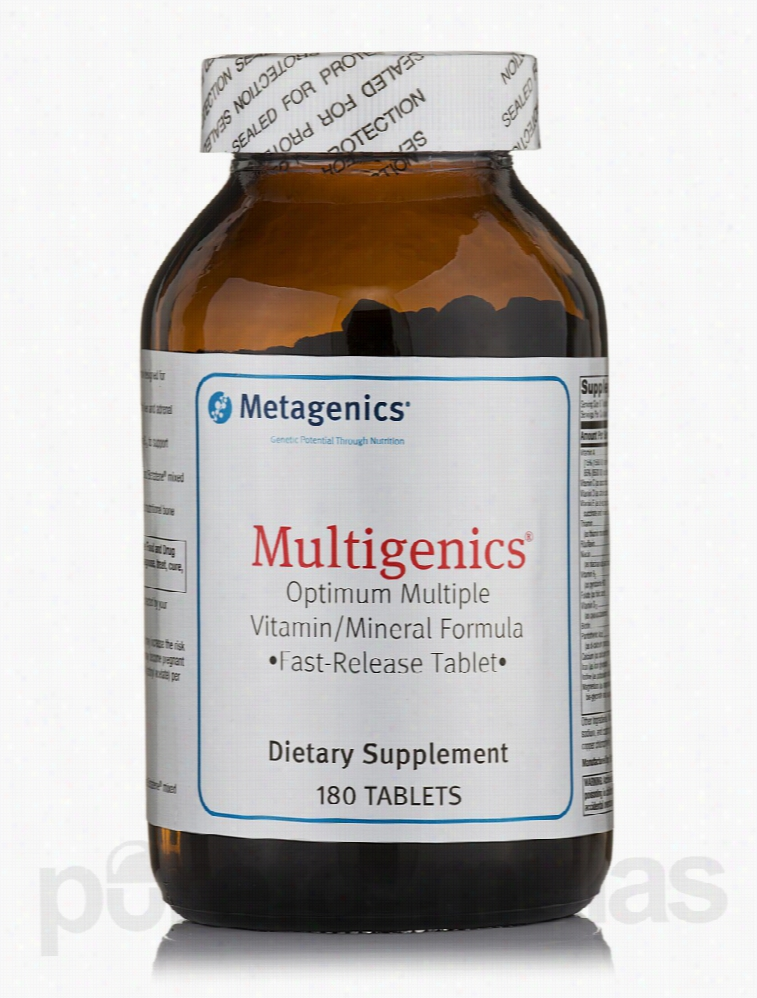 Metagenics Minerals - Multigenics - 180 Tablets