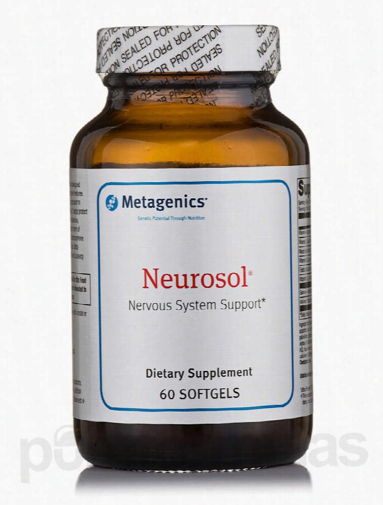 Metagenics Nervous System Support - Neurosol - 60 Softgels