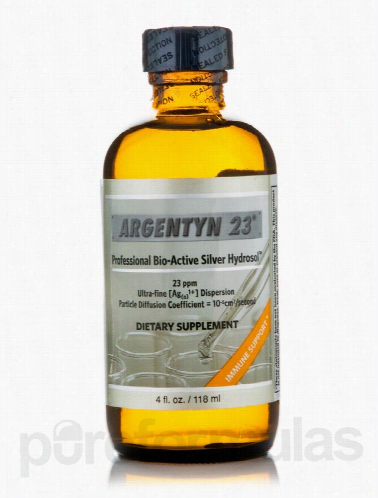 Natural Immunogenics Immune Support - Argentyn 23 No Dropper - 4 fl.