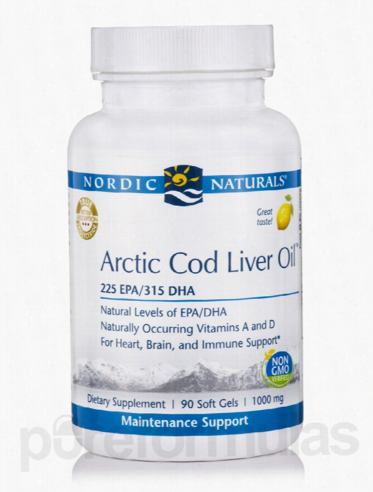 Nordic Naturals Cardiovascular Support - Arctic Cod Liver Oil 1000