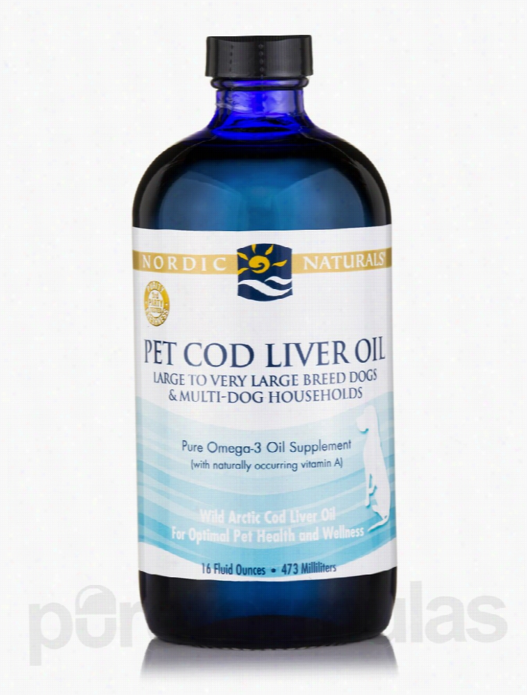 Nordic Naturals Dogs - Pet Cod Liver Oil for Large to Very Large Breed