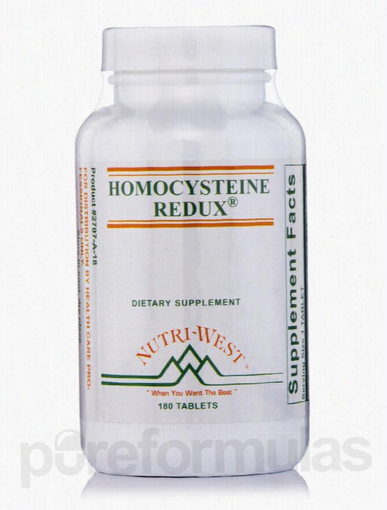 Nutri West Cardiovascular Support - Homocysteine Redux - 180 Tablets