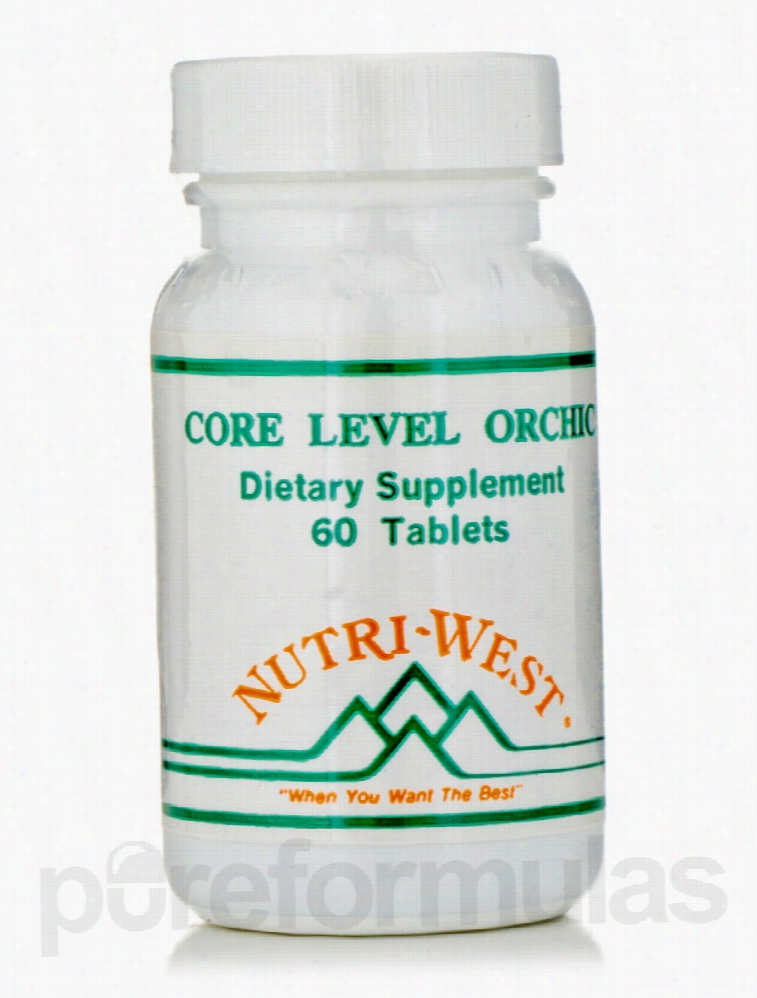 Nutri West Men's Health - Core Level Orchic - 60 Tablets