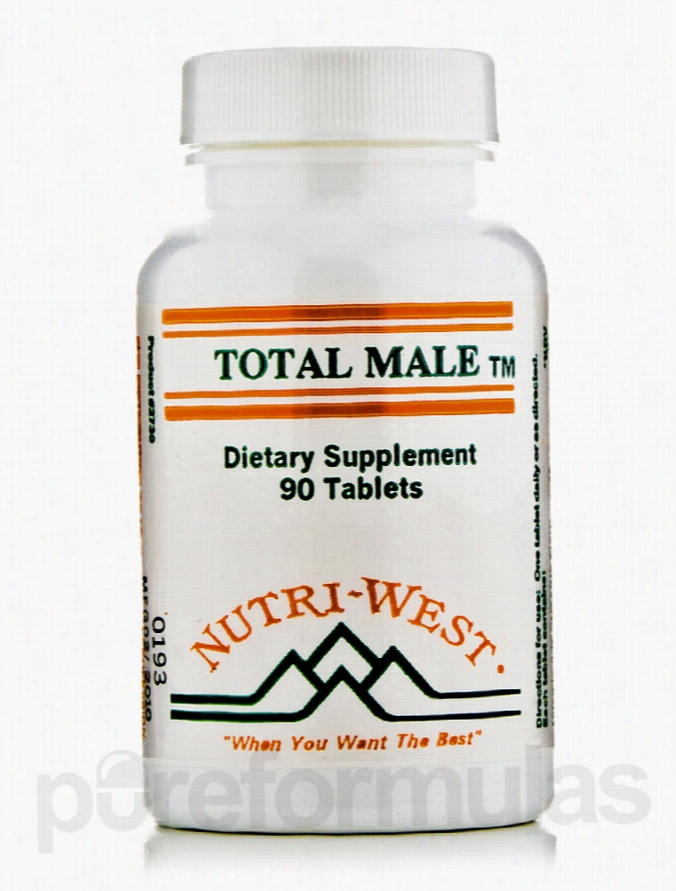Nutri West Men's Health - Total Male - 90 Tablets