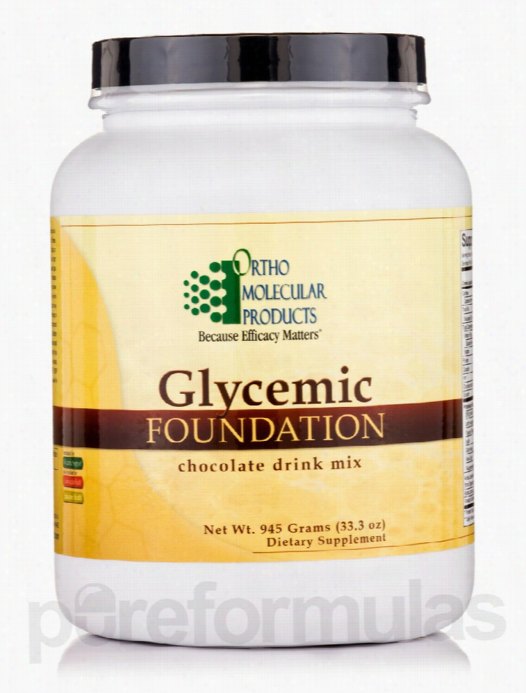 Ortho Molecular Products Cardiovascular Support - Glycemic Foundation