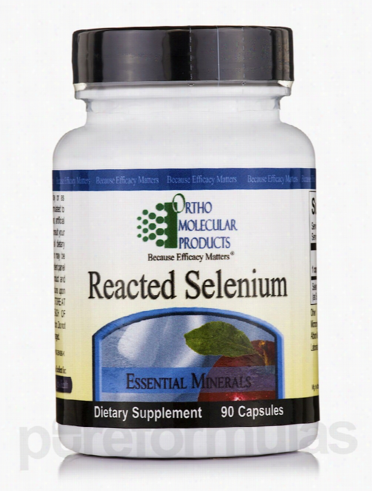 Ortho Molecular Products Cellular Support - Reacted Selenium - 90