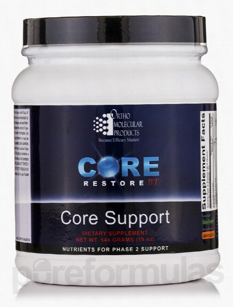 Ortho Molecular Products Detoxification - Core Support - 19 oz (546