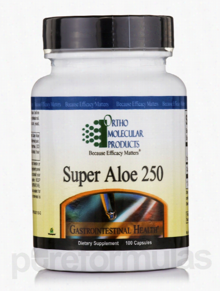 Ortho Molecular Products Gastrointestinal/Digestive - Super Aloe 250 -