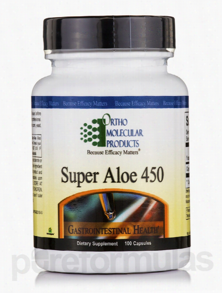 Ortho Molecular Products Gastrointestinal/Digestive - Super Aloe 450 -