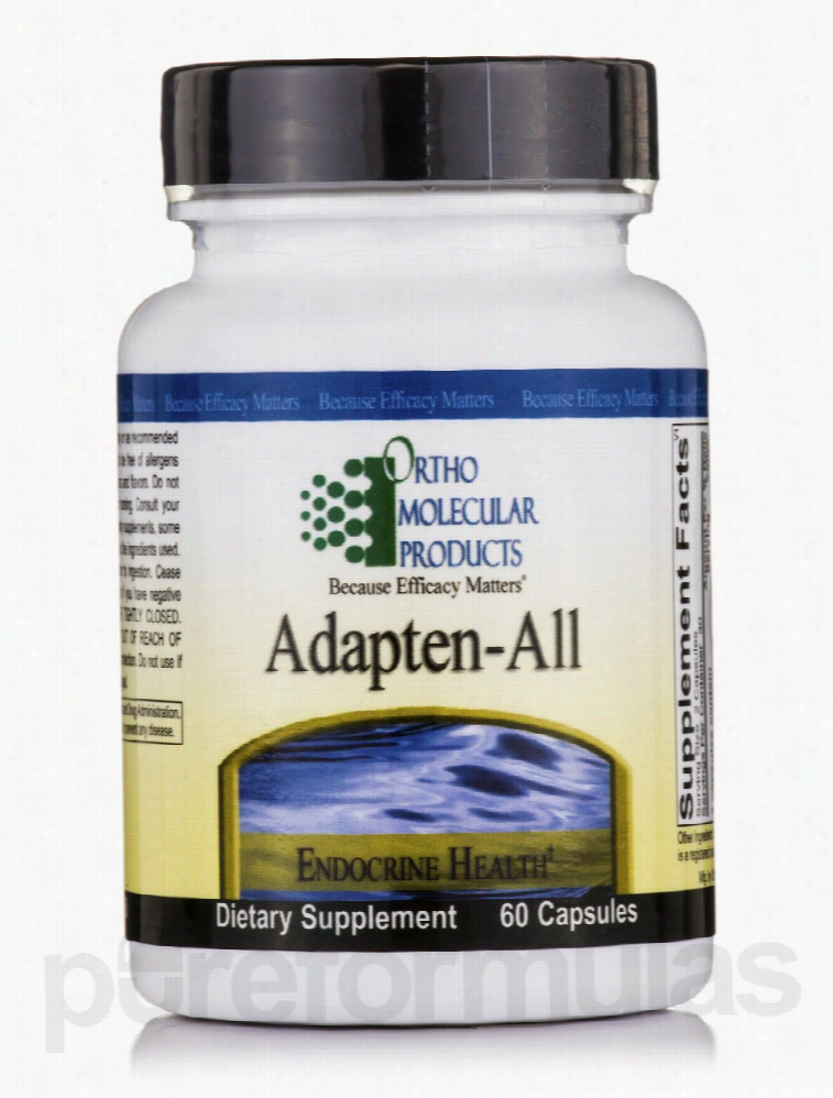 Ortho Molecular Products Hormone/Glandular Support - Adapten-All - 60