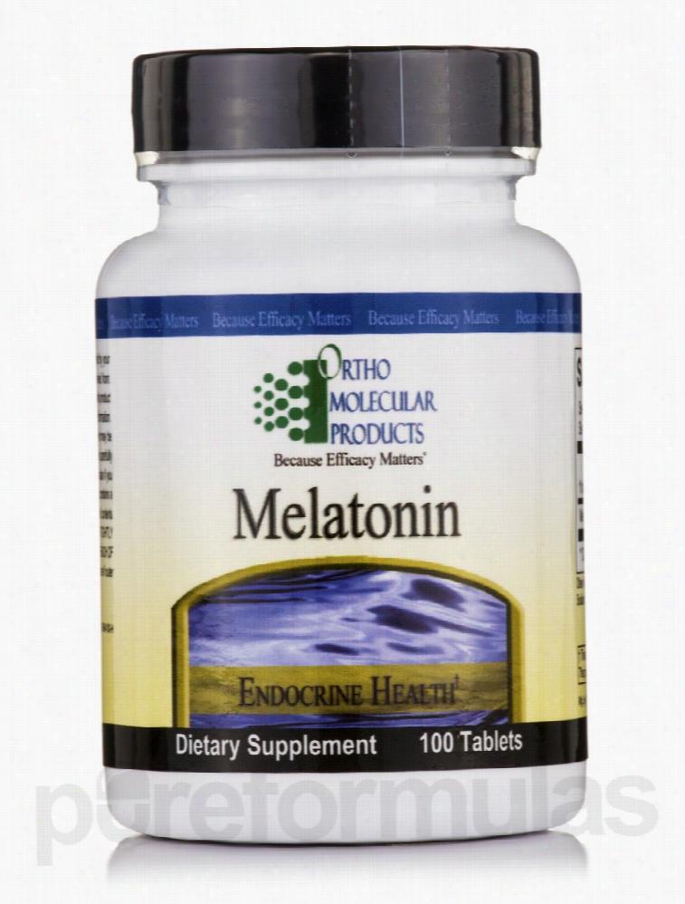 Ortho Molecular Products Hormone/Glandular Support - Melatonin - 100