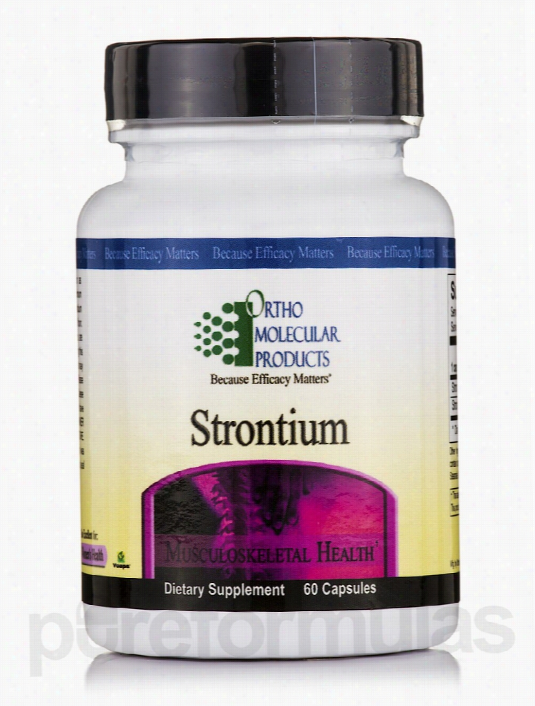 Ortho Molecular Products Joint Support - Strontium - 60 Capsules