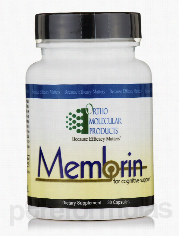 Ortho Molecular Products Memory/Cognitive Support - Membrin - 30