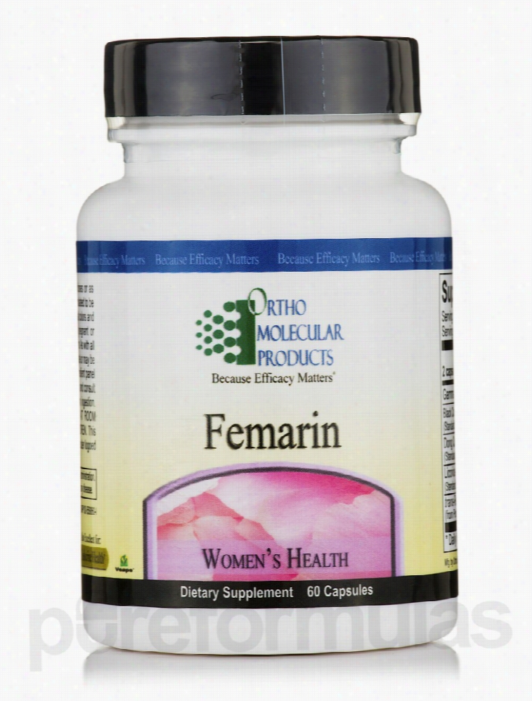 Ortho Molecular Products Women's Health - Femarin - 60 Capsules