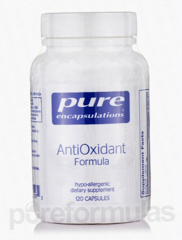 Pure Encapsulations Cellular Support - AntiOxidant Formula - 120