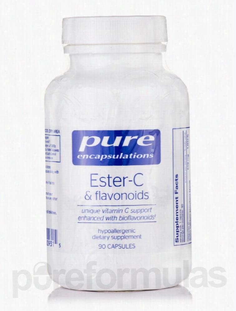 Pure Encapsulations Cellular Support - Ester-C & Flavonoids - 90