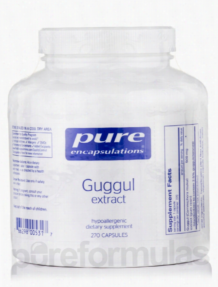 Pure Encapsulations Cellular Support - Guggul Extract - 270 Capsules