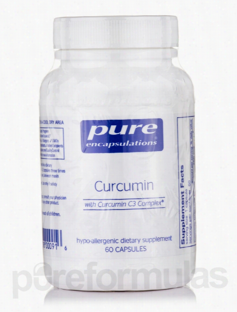 Pure Encapsulations General Health - Curcumin - 60 Capsules