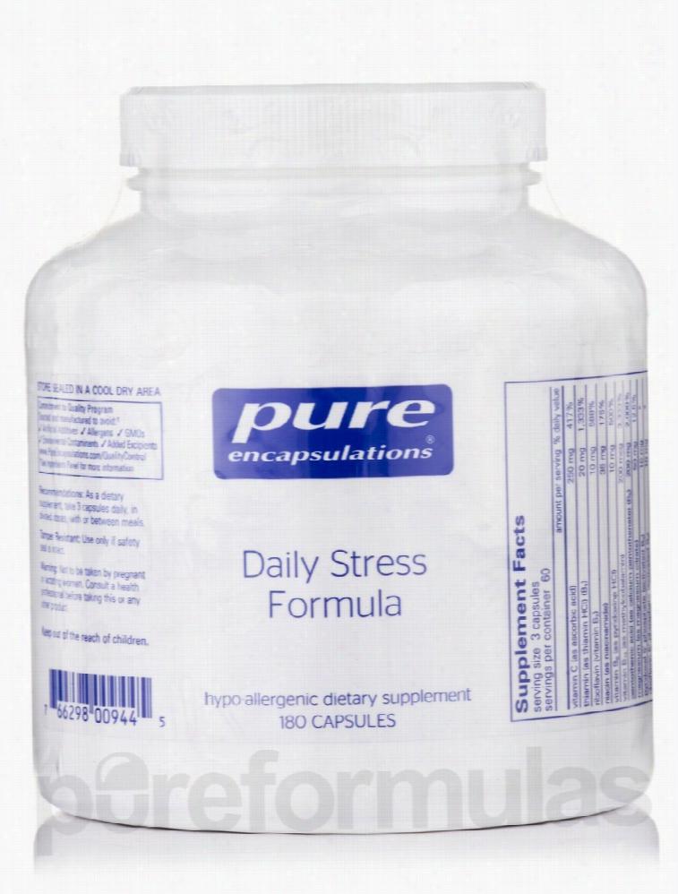 Pure Encapsulations General Health - Daily Stress Formula - 180