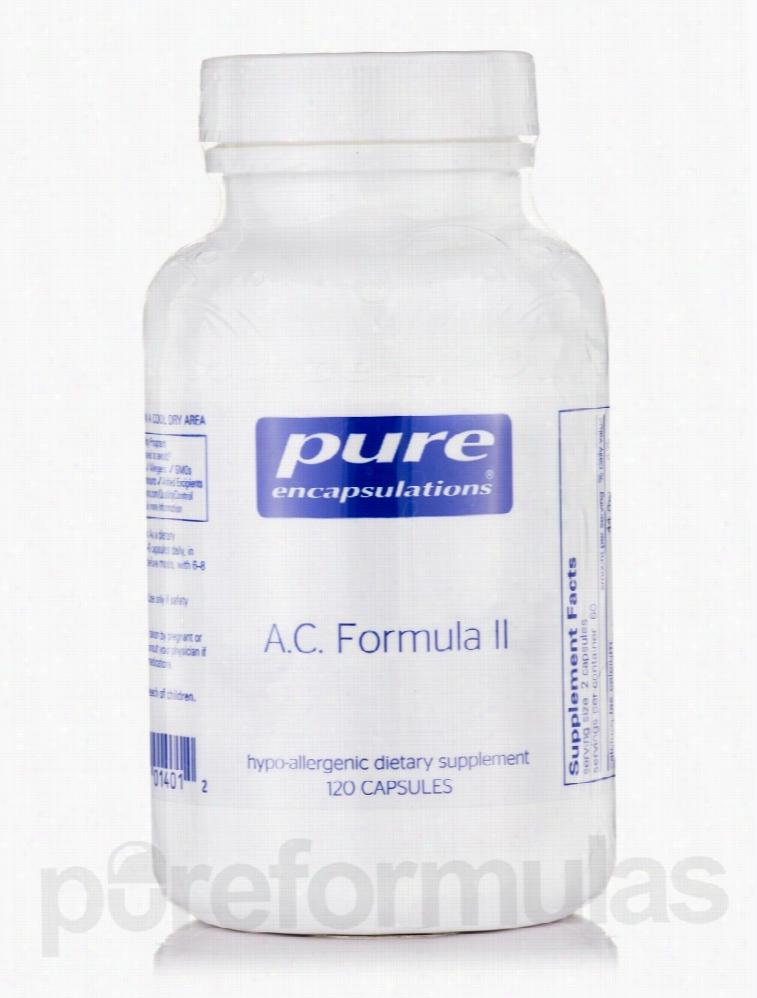 Pure Encapsulations Immune Support - A.C. Formula II - 120 Capsules