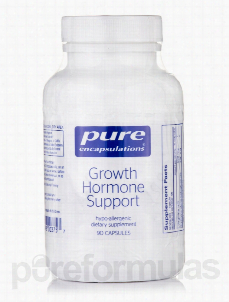 Pure Encapsulations Metabolic Support - Growth Hormone Support - 90