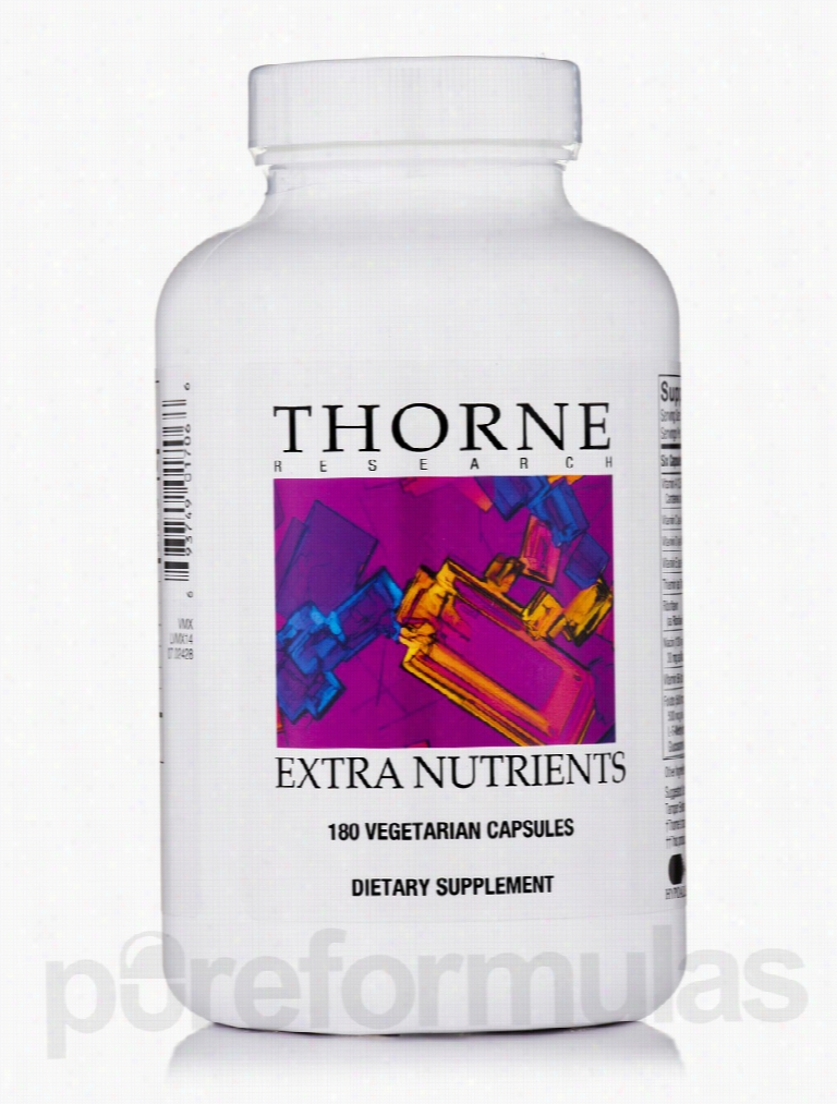Thorne Research Cellular Support - Extra Nutrients - 180 Vegetarian