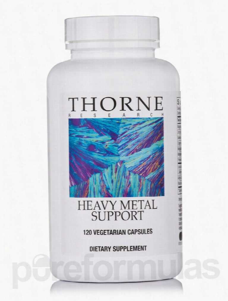 Thorne Research Detoxification - Heavy Metal Support - 120 Vegetarian