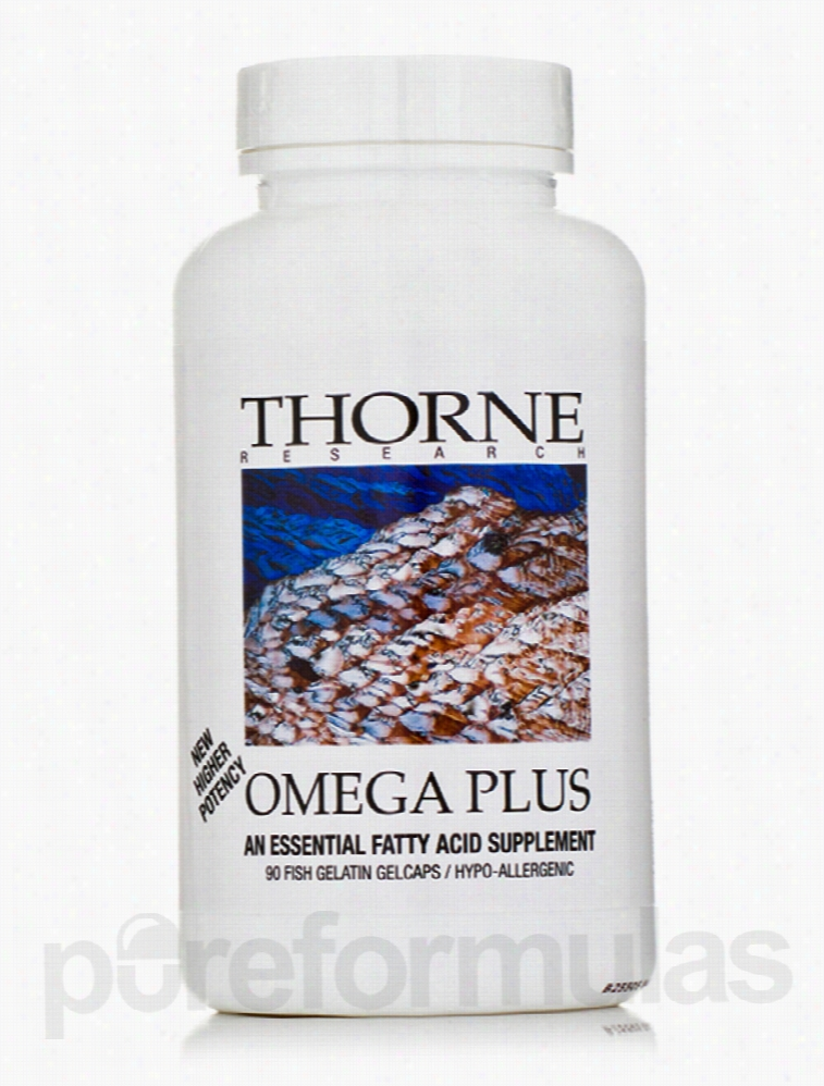 Thorne Research Essential Fatty Acids - Omega Plus - 90 Fish
