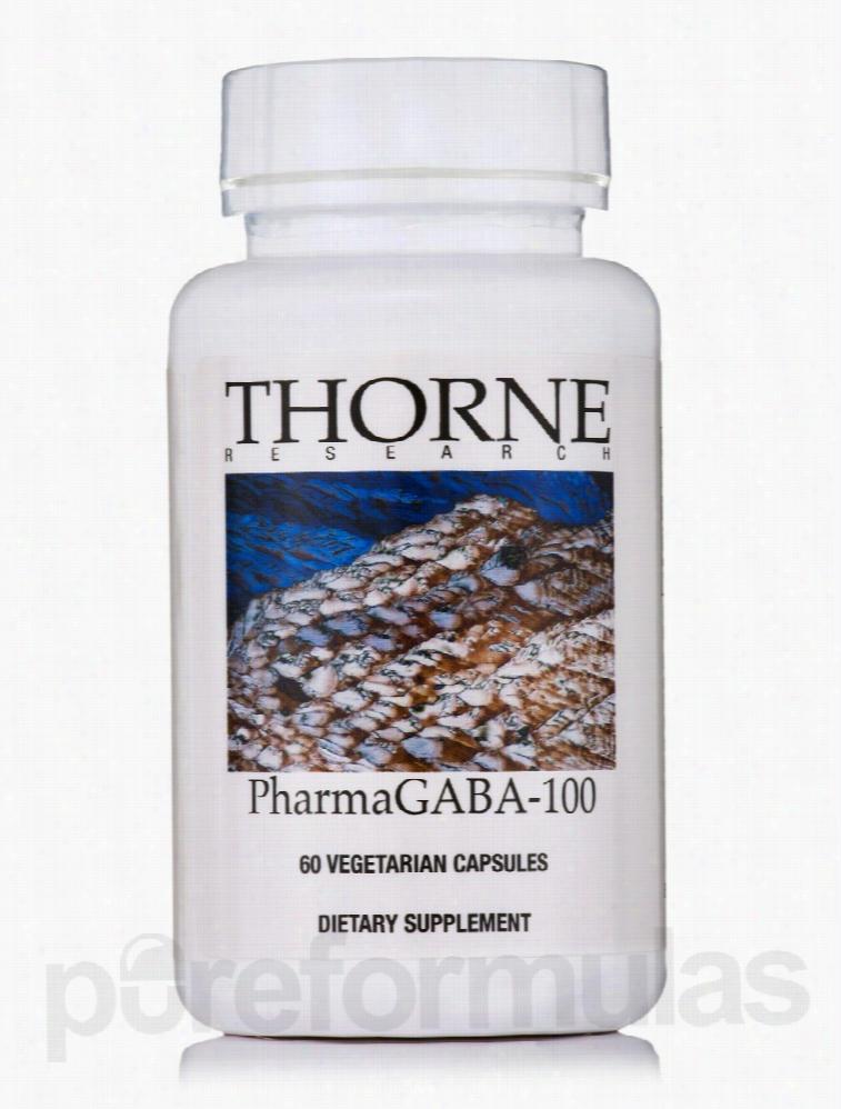 Thorne Research Hormone/Glandular Support - PharmaGABA-100 - 60