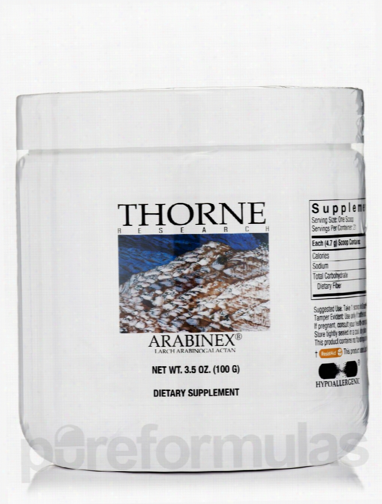 Thorne Research Immune Support - Arabinex (Arabinogalactans) - 3.5 oz