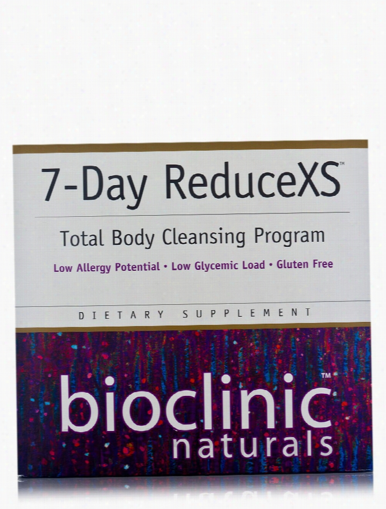 Bioclinic Naturals Detoxification - 7-Day ReduceXS - 1 Kit